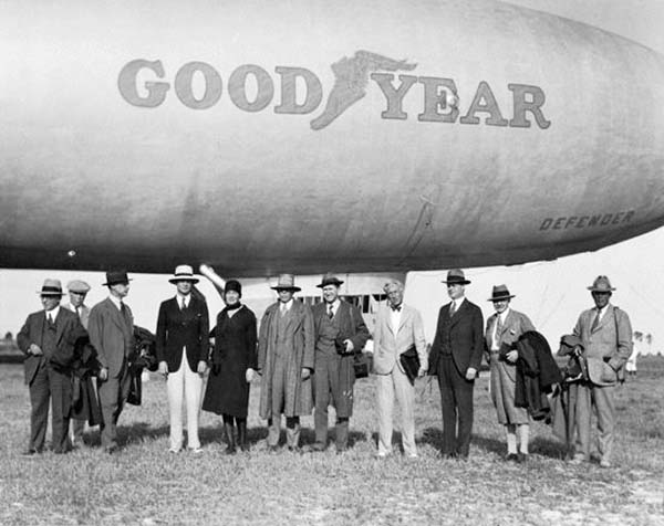 Goodyear Blimp used to live in Miami